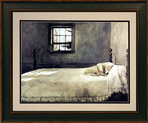 andrew wyeth framed dog print master bedroom ebay