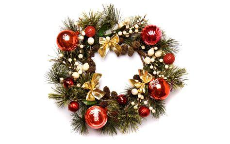 christmas wreath wallpaper 755062