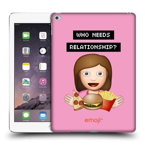 emoji reader official emoji food hard back case for apple ipad ebay