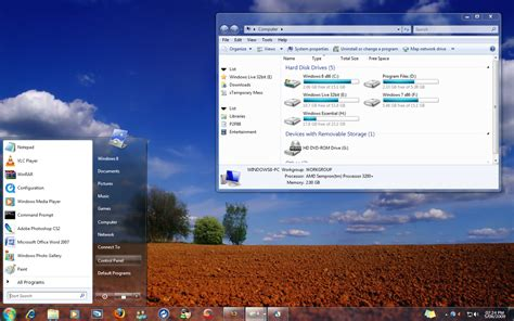 html based themes 8 windows 7 based themes for vista