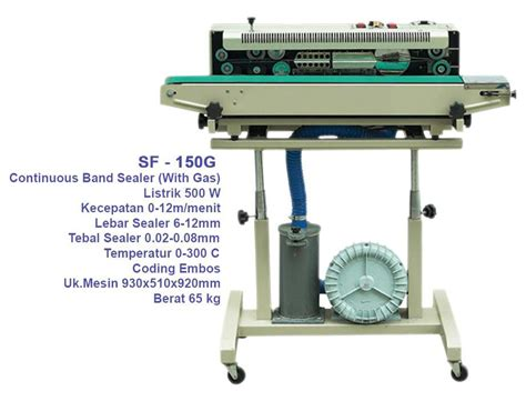 Mesin Sealer 301 moved permanently
