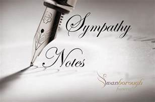 sympathy notes swanborough funerals