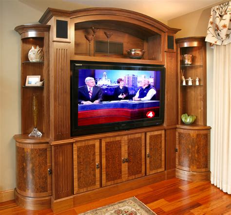 Living Room Media Wall Units Tv And Media Wall Unit Traditional Living Room Other