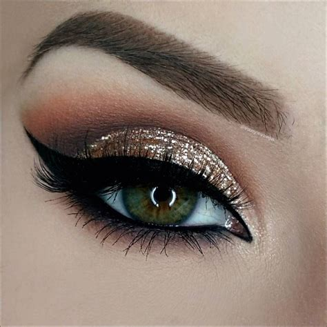 25 best ideas about eye black and gold glitter makeup www pixshark images