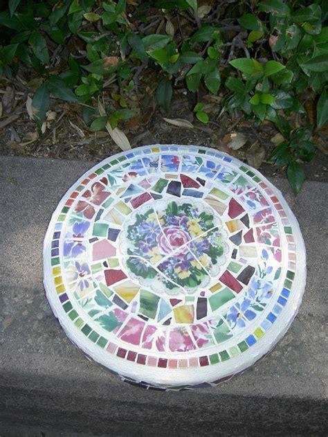 Mosaic Garden Stones by Mosaic Stepping Garden