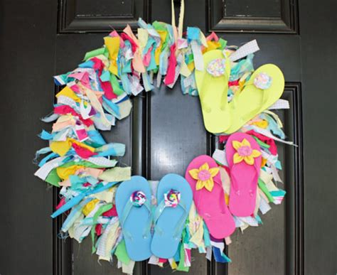 diy crafts for home decor fabulous summer crafts decor get inspired 15 fabulous diy summer wreaths how to nest