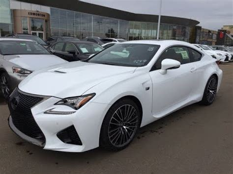 lexus rcf white interior 2015 lexus rc f review