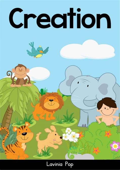 creation story for kids book sunday school creation sun moon and stars in my world