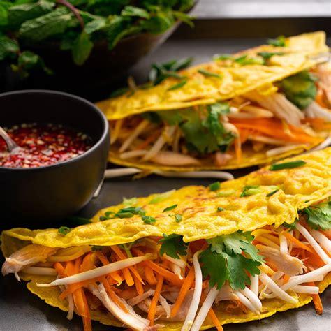 crispy vietnamese pancakes banh xeo marions kitchen