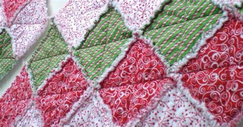 quilted christmas tree skirt holiday tree skirt rag by