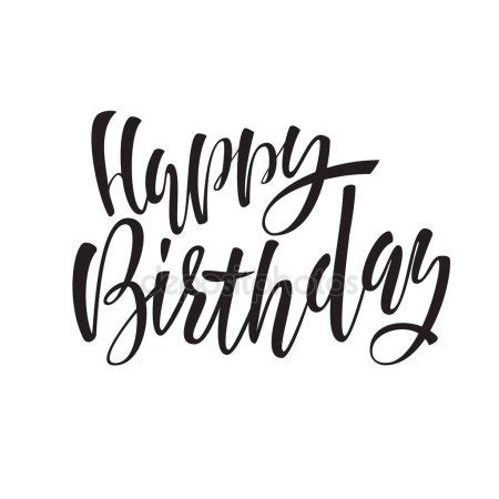 imagenes para cumpleaños blanco y negro letras de feliz cumplea 241 os para invitaci 243 n y tarjeta de