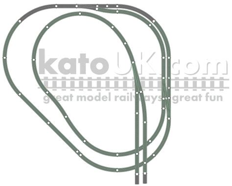 kato unitrack layout guide book kato unitrack spare corner track plan