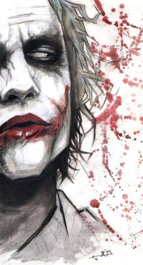 joker painting dc comics joker harley quinn on batman