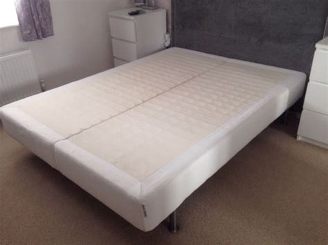 ikea espevar ikea king size mattress base bed in irvine north