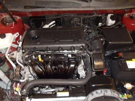 2008 Kia Optima Engine 2009 Kia Optima Lx 2 4 Liter Dohc 16 Valve 4 Cylinder