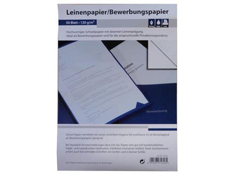Bewerbung Als Aushilfe Discounter 50 Blatt Leinenpapier 120g M 178 Din A4 Ideal F 252 R Bewerbung