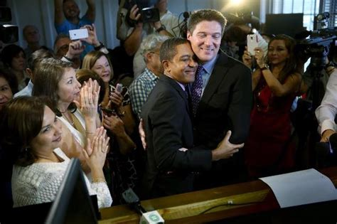 Miami Dade County Clerk Of Court Marriage Records Same Couples Wed In Florida As Marriage Ban Ends