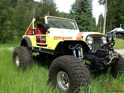 monster jeep jeep cj7 monster jeep no reserve