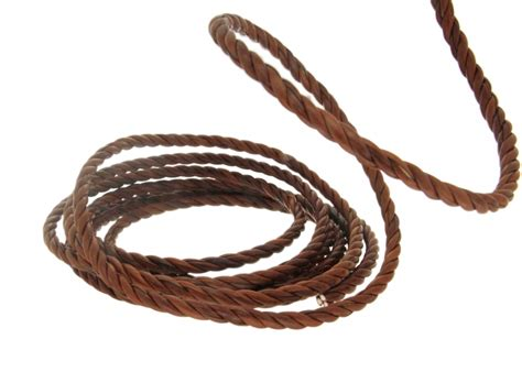 Twisted L Cord by Cord Twisted Leather Imprinting S R L