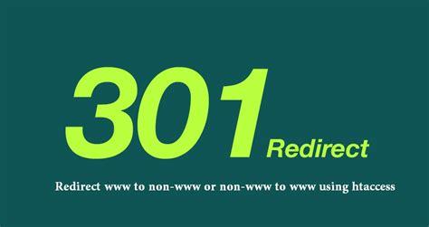 Domain Redirect 301 Htaccess