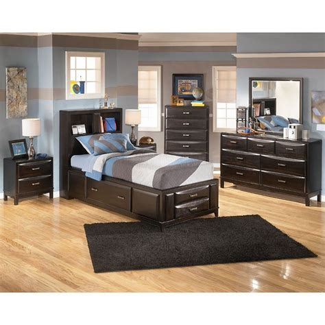 signature designs by ashley kira black bedroom desk and kira youth storage bedroom set signature design by ashley