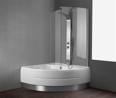 vasca da bagno angolare con doccia vasca da bagno quot montreal quot 140x140 cm