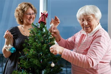 christmas tips for seniors activities for the elderly and disabled thriftyfun