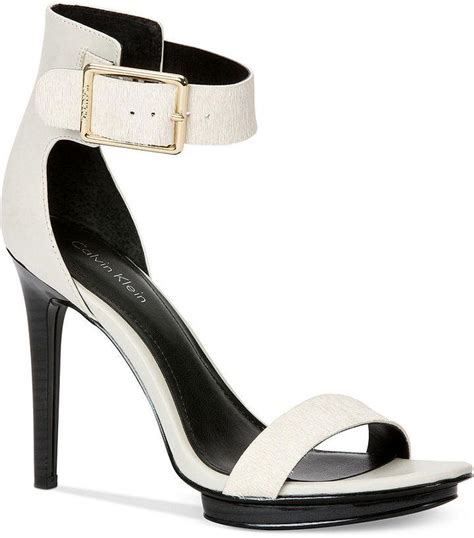 calvin klein high heels calvin klein s high heel sandals 2171607