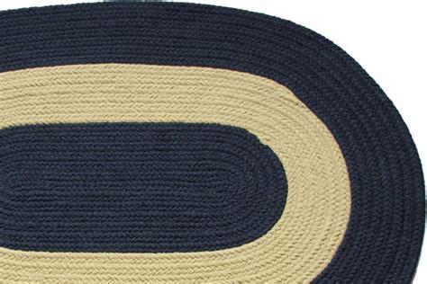 navy braided rug chesapeake bay navy braided rug