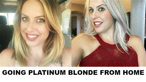 diy going platinum from home