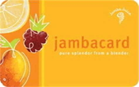 Www Jamba Com Gift Card Balance - get the balance of your jamba juice gift card giftcardbalancenow