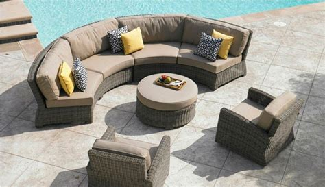 Curved Outdoor Patio Furniture Curved Patio Couches Sofa Ideas Interior Design Sofaideas Net
