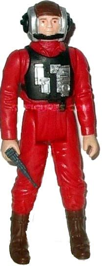 b wing pilot figure wars 1984 1985 figures