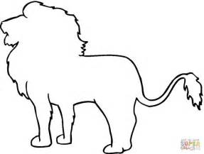animal outlines animal outline drawings outline coloring
