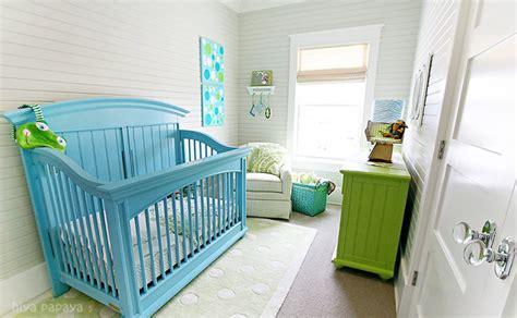 Green Baby Cribs Turquoise Crib Cottage Nursery Hiya Papaya