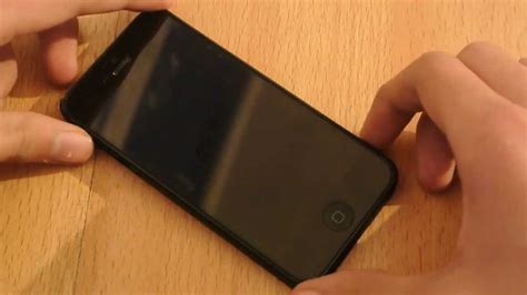 turn  iphone   power button youtube