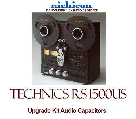 rs capacitors technics rs 1500us upgrade kit audio capacitors