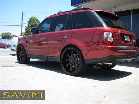 wheels range rover range rover sport savini wheels