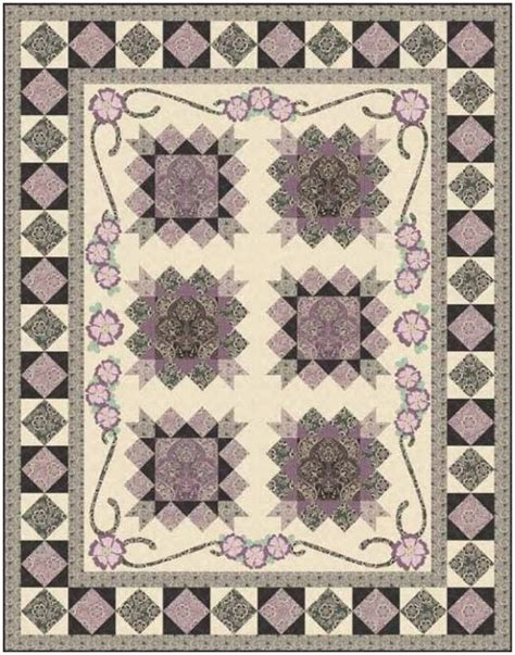 Downton Fabrics Quilt Patterns the shabby a quilting by shabby fabrics downton