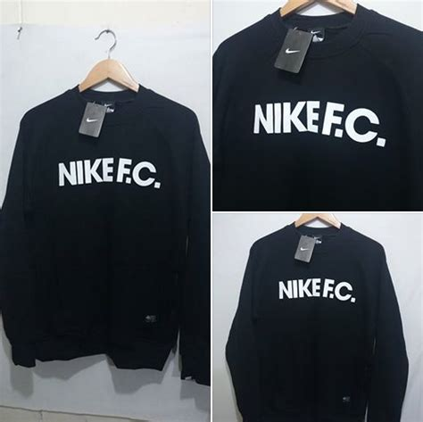 Harga Murah T Shirt Hoodie 1019 sweater nike fc black murah jual jaket real madrid home