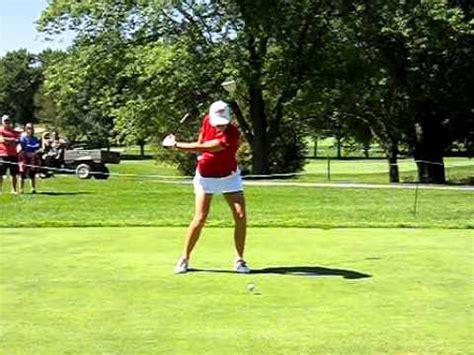 paula creamer golf swing paula creamer driver swing foa youtube