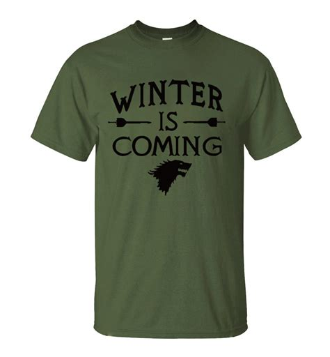 Tshirt Winter Is Coming I winter is coming t shirt 11 colors