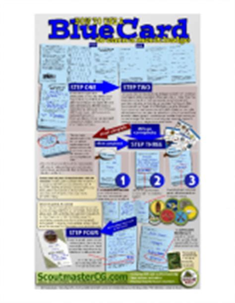 boy scout blue card template documents troop 120