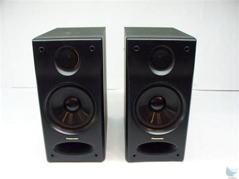 panasonic sb ch7 2 way bookshelf speakers 10w 8 ohm hi 50w