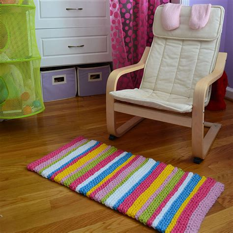 Stripey Rug by Crochet In Color Stripey Rug