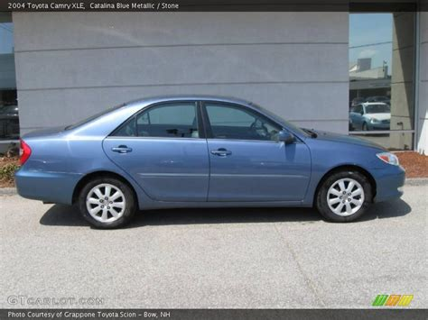 2004 blue toyota camry 2004 toyota camry xle in blue metallic photo no