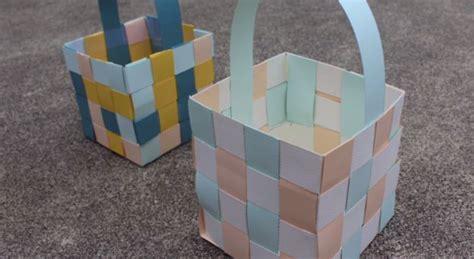 Membuat Vco Berkualitas Tinggi cara membuat anyaman keranjang kertas diy with pict