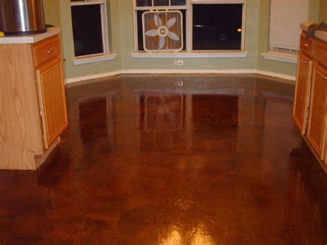 concrete stain, Cola, High Gloss Industrial Sealer, from