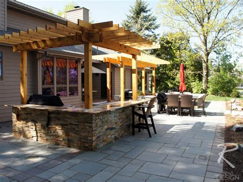 Pictures Of Backyard Patios by Outdoor Kitchen Backyard Patio Traditional Patio Other Metro By Revi Design