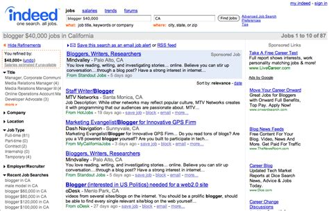 Indeed Search Indeed Now Lets You Search For By Salary Techcrunch